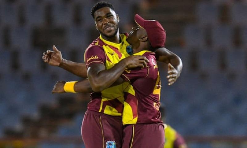 अस्ट्रेलियासँगको पहिलो टी–ट्वान्टी क्रिकेटमा वेस्ट इन्डिज १८ रनले विजयी